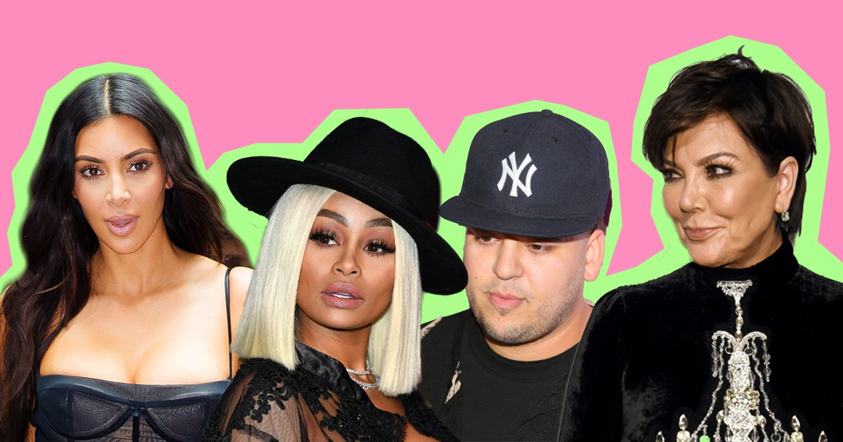 Rob Kardashian Gushes Over Blac Chyna In Heartfelt