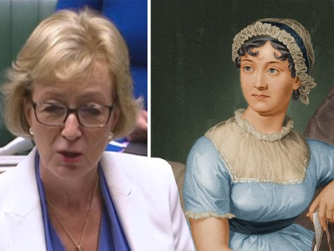 Tory minister Andrea Leadsom laughed at for calling Jane Austen one of UK's 'greatest living authors'