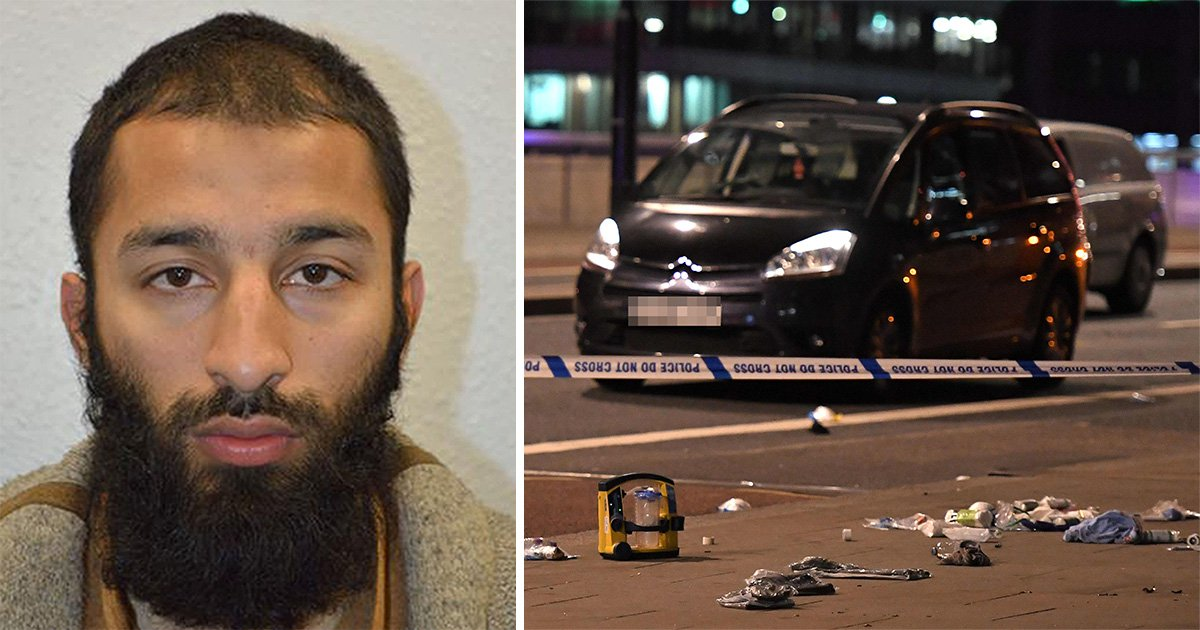 London Bridge terrorist buried in secret and even his own mum didn't go to funeral