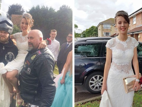 Girl gets her very own prom after missing school's due to bullying about bowel condition