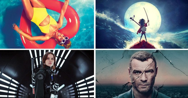 Rogue One: A Star Wars Story, Insecure Season 2, Ray Donovan Season 5, Kubo and the Two Strings