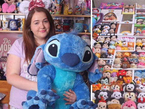 21-year-old spends £15,000 on her Disney addiction in just three years