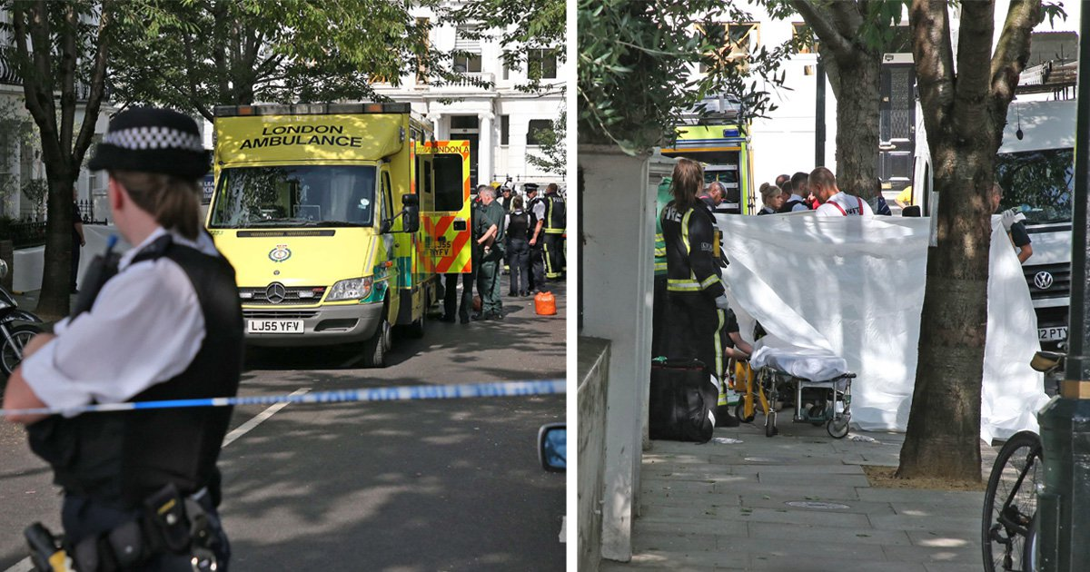 Man dies after being dragged from fume-filled basement of London home