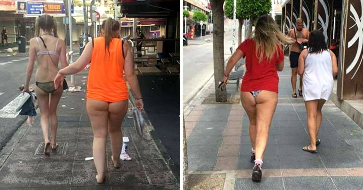 Facebook page set up show Brits in Magaluf 'doing the walk of shame'