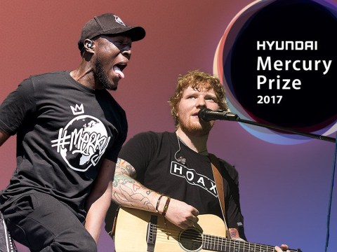 Stormzy and Ed Sheeran are up for this year's Mercury Prize