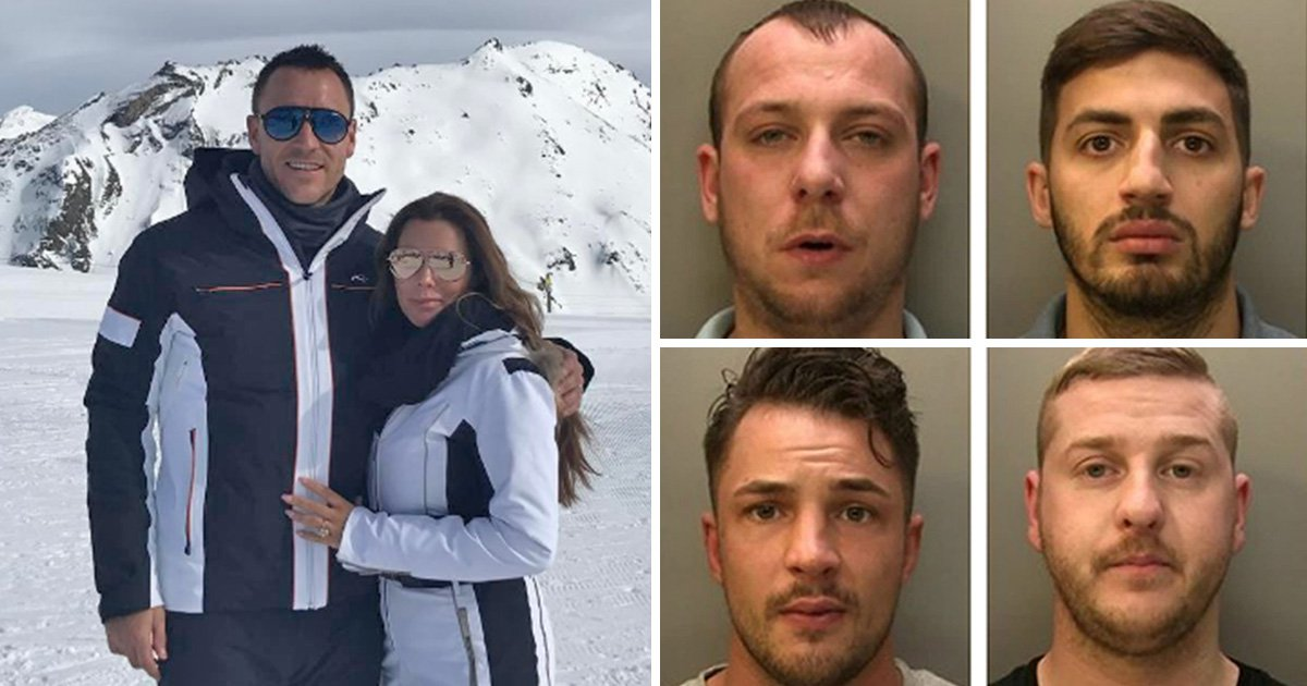 The holiday snap that cost John Terry £400,000 after thieves raided his home