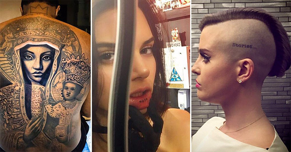 After Paris Jackson and Macaulay Culkin's matching tattoos, here's 15 more stars with interesting ink