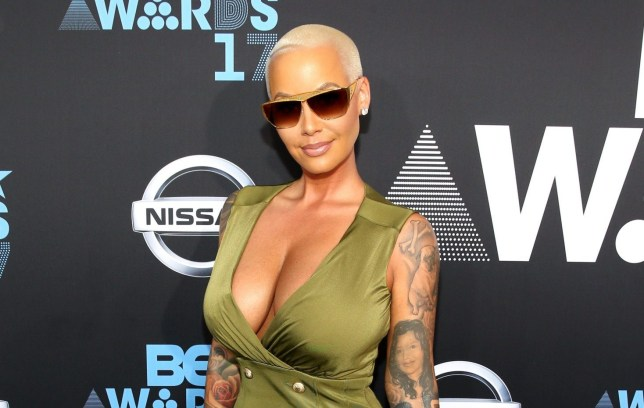 Amber Rose at BET Awards