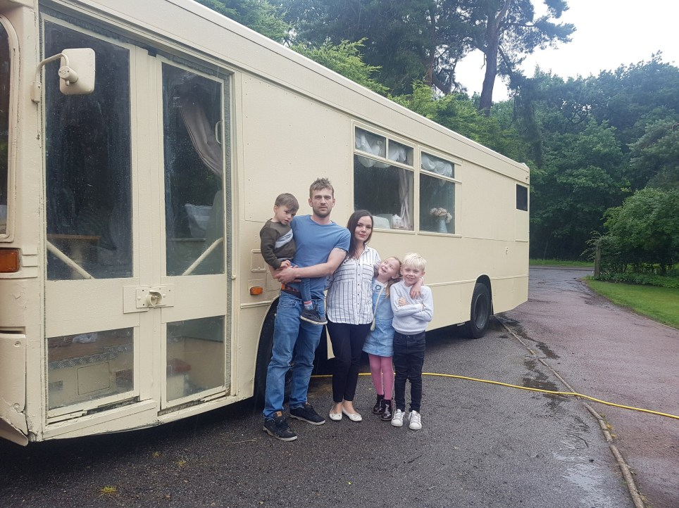 Couple buy No 51 bus to convert into 'luxury' motorhome
