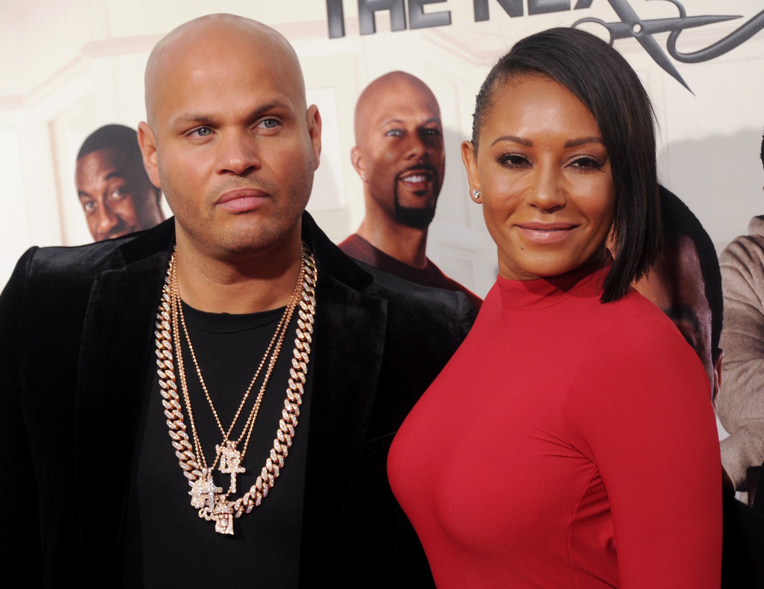 Mel B 'chucks out ex Stephen Belafonte's stuff leaving him only used towels'