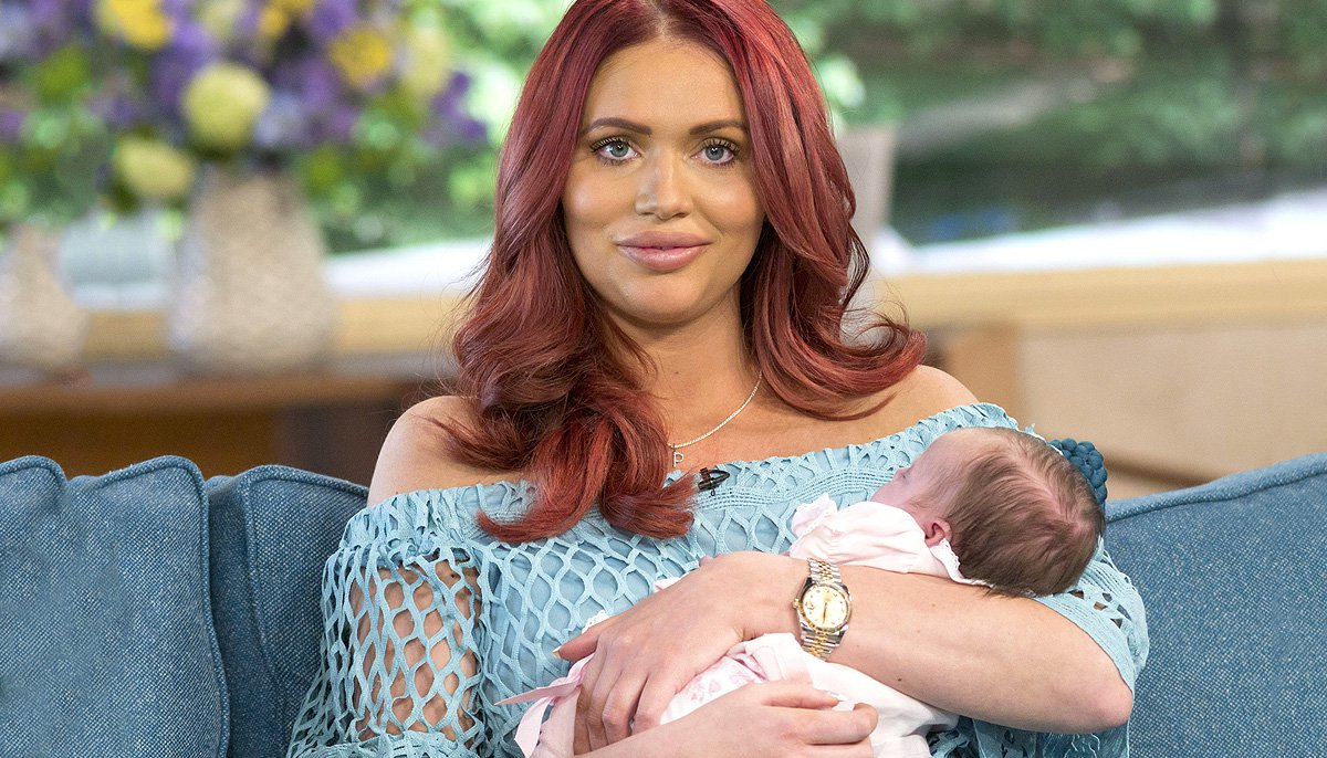 Amy Childs gets blasted for choosing to wean daughter Polly at 4-months-old