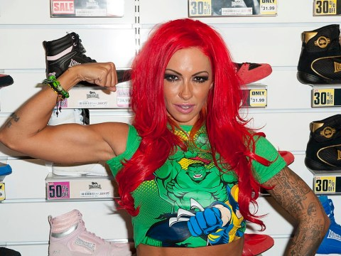 Jodie Marsh arrested in police raid after 'texting her ex-husband claiming he owes her father money'