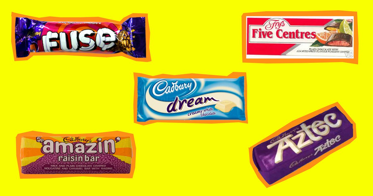 World Chocolate Day 15 Forgotten Bars We Want Back Metro News