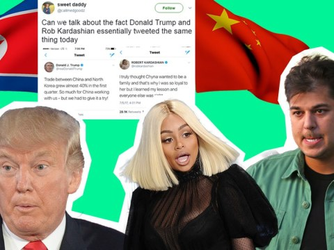 Did Donald Trump and Rob Kardashian essentially just tweet the same thing?
