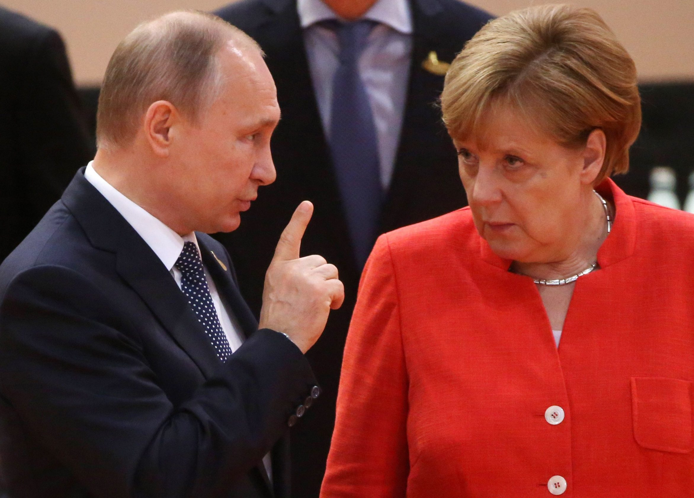 Angela Merkel gave Vladimir Putin the most savage eye roll at G20 summit