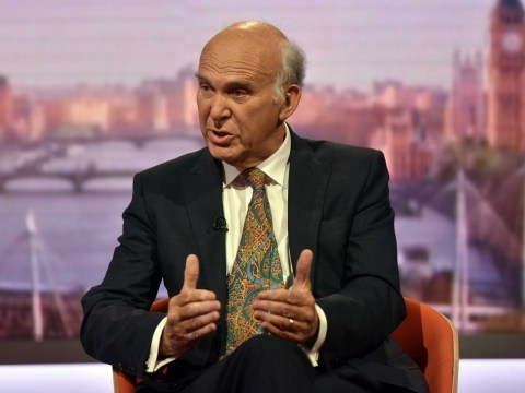 Sir Vince Cable insists the sex scenes in his new book are 'discreet'