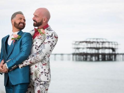 Gogglebox's Chris Steed marries boyfriend Tony Butland and admits: 'I was sobbing like a baby'