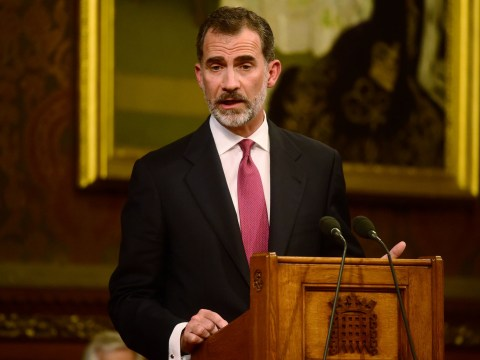 King of Spain says they'll 'work out arrangements' with UK over Gibraltar
