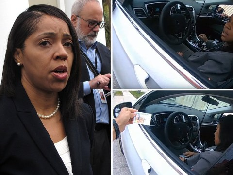 Painfully awkward video shows cop trying to explain why he pulled over state attorney