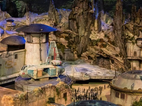 First look at Disney's Star Wars Land arrives and it looks incredible