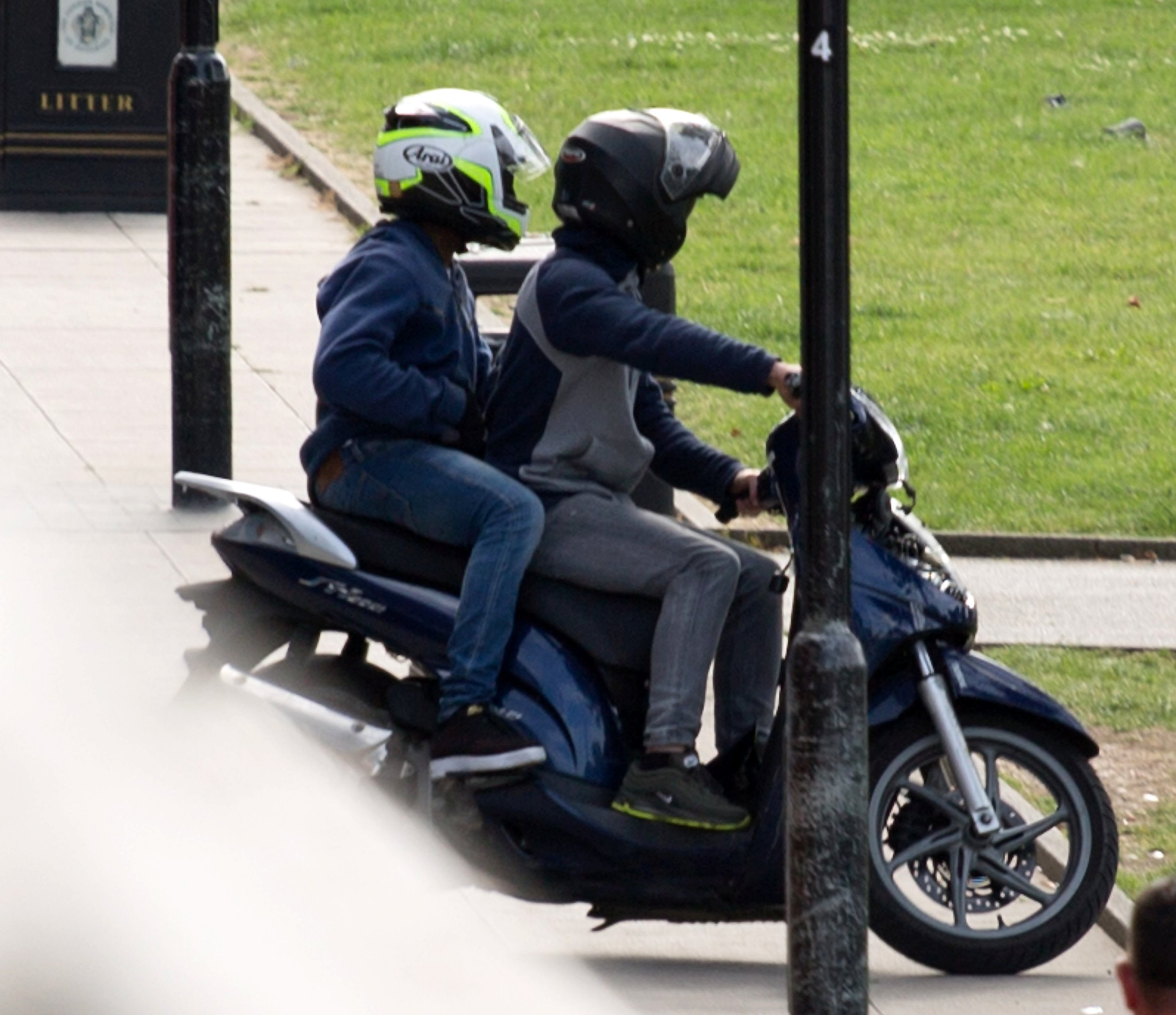 More machete-wielding moped thugs terrorise London estate