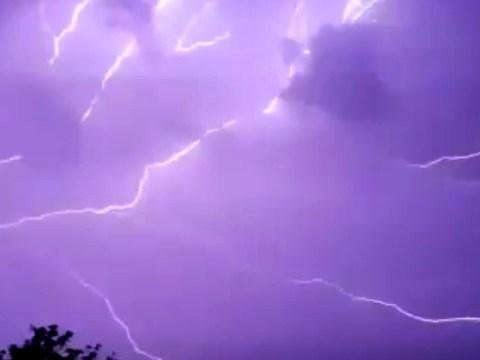 Biker's penis hit by lightning