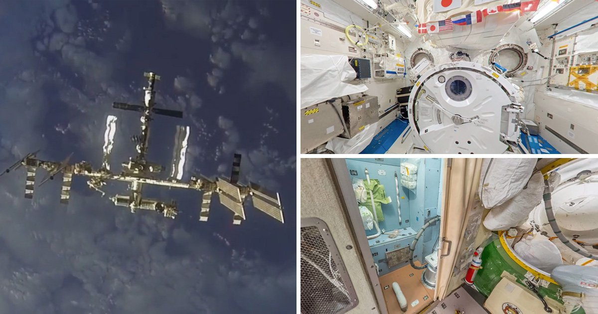 You can now explore the International Space Station on Google Street View