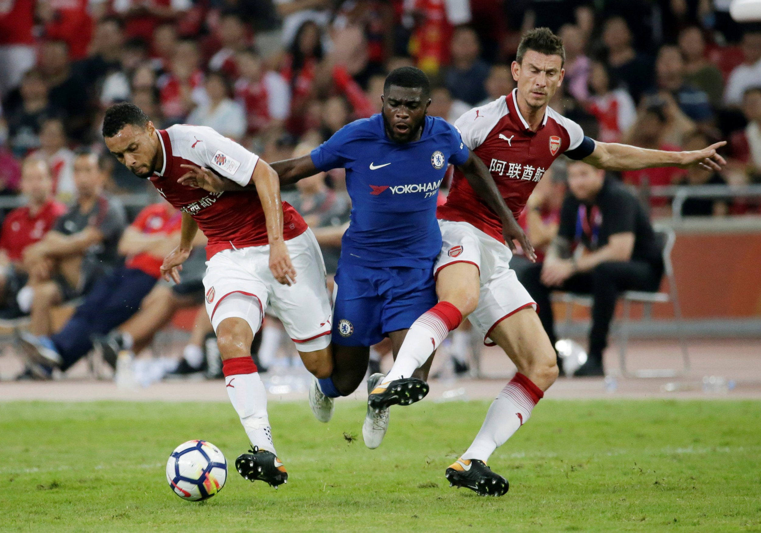 Chelsea starlet Jeremie Boga humiliates Sead Kolasinac and Francis Coquelin in sublime display against Arsenal