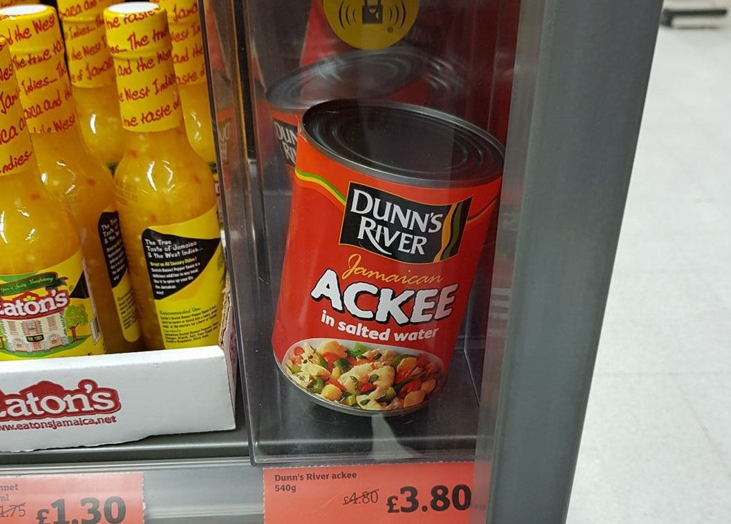Sainsbury's accused of racism for security tagging cans of Jamaican ackee