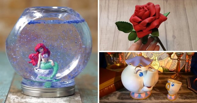 Disney inspired crafts anyone can create