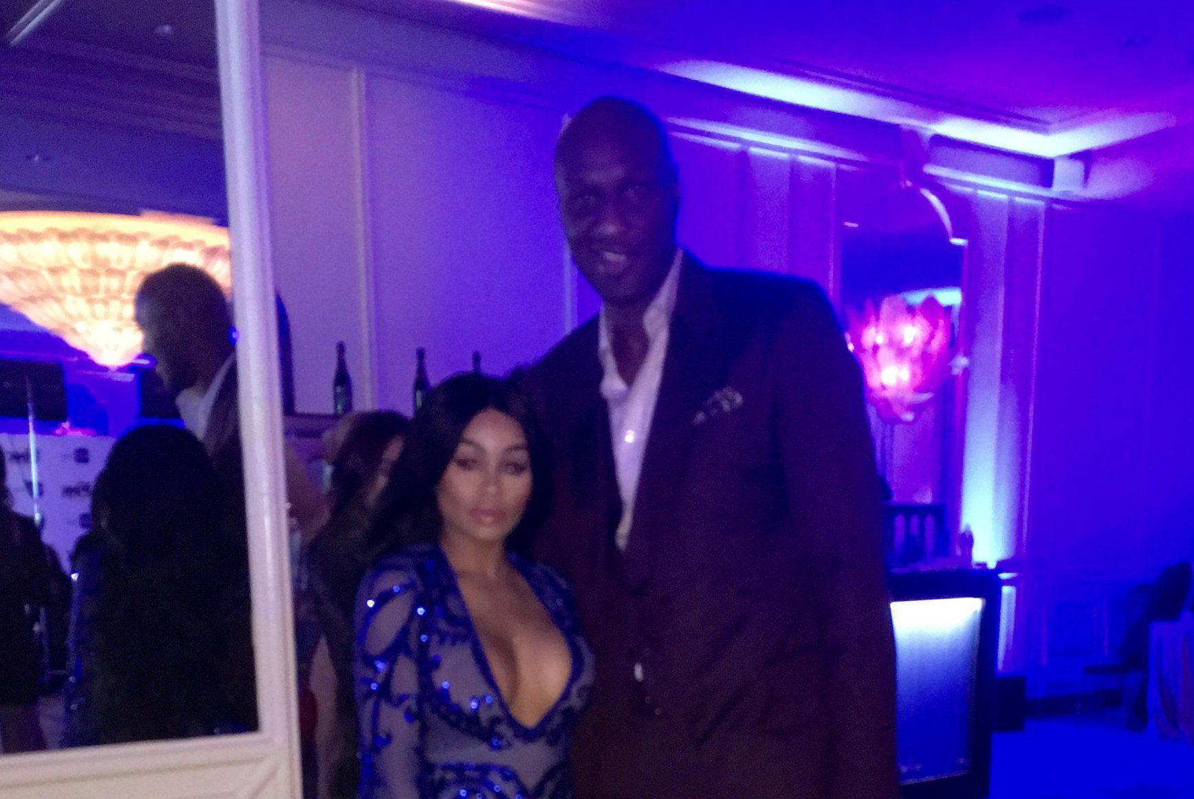 Keeping Away From The Kardashians? Blac Chyna and Lamar Odom spotted together