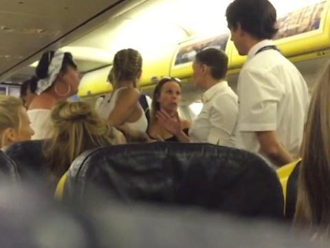 Passengers cheer as rowdy hen party is thrown off Ryanair flight
