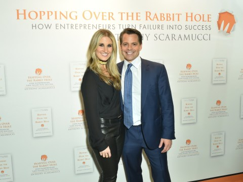 Anthony Scaramucci's wife files for divorce after growing tired of his 'naked ambition'