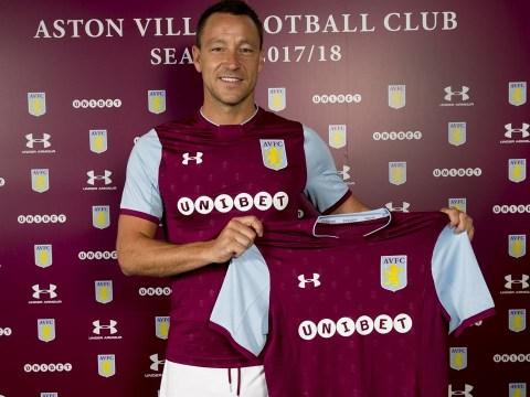 Aston Villa unveil John Terry as Chelsea legend completes move