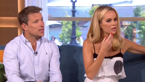 Amanda Holden and Ben Shephard shocked Ben Fogle has been using sister in-law's breast milk to treat eye infection