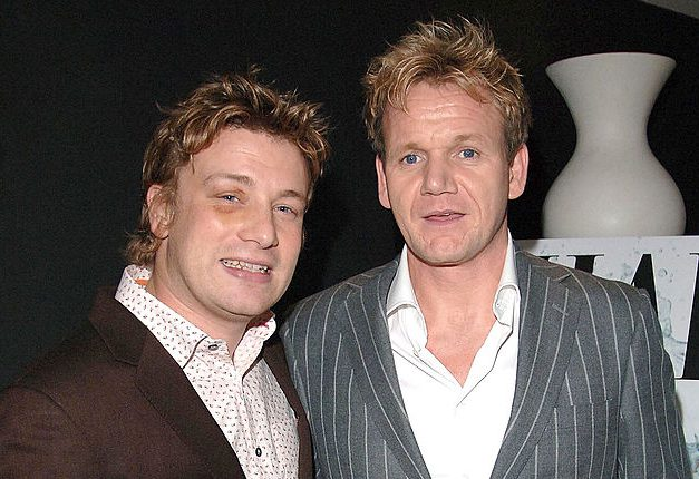 Jamie Oliver compares Gordon Ramsay to a person with dementia after fat jibes from his rival