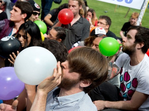 Legal high ban to be reviewed after laughing gas case collapses