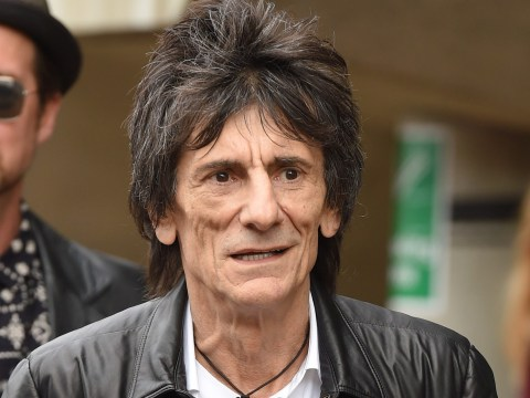 Ronnie Wood reveals he was diagnosed with lung cancer three months ago