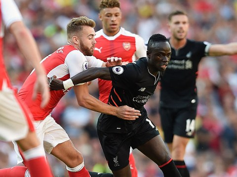 Liverpool hero Sadio Mane explains how he turned Arsenal defender Calum Chambers inside out
