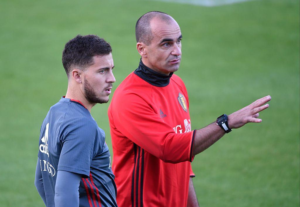 Chelsea fans panic as Roberto Martinez admits he could include Eden Hazard in Belgium squad