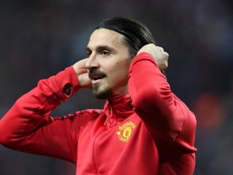 Zlatan Ibrahimovic can play behind Romelu Lukaku, suggests Jose Mourinho