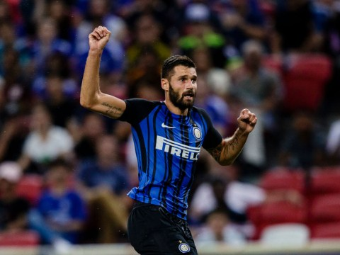 Inter Milan ready to sell Antonio Candreva to Chelsea but Ivan Perisic to miss out on Manchester United transfer