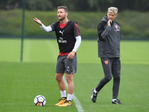 Arsene Wenger refuses to deny Shkodran Mustafi will leave Arsenal in the next week