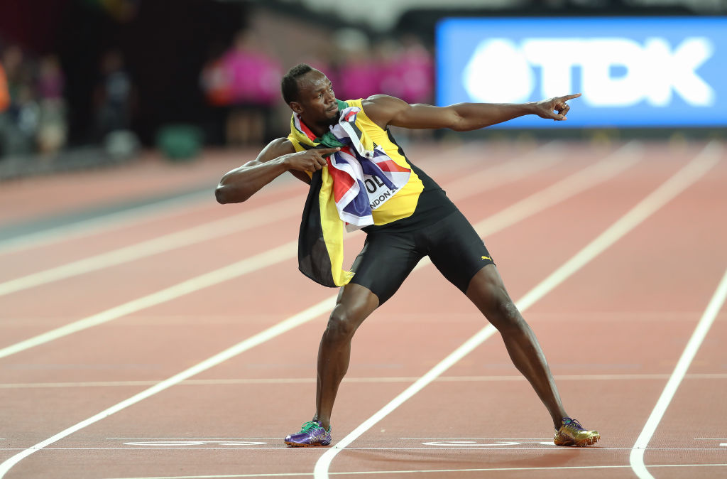 When is Usain Bolt's last race at the Athletics World Championship? The relay is this Saturday!