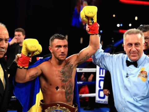 Vasyl Lomachenko channels Muhammad Ali as he dances to victory in WBO super-featherweight bout