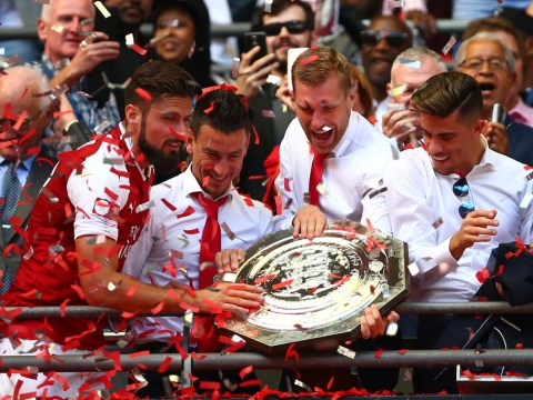 Arsenal 1-1 Chelsea (4-1): Gunners win Community Shield on penalties after late drama at Wembley