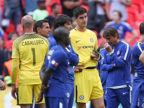 Thibaut Courtois taking a penalty was no bigger a risk than Alvaro Morata stepping up, claims Antonio Conte