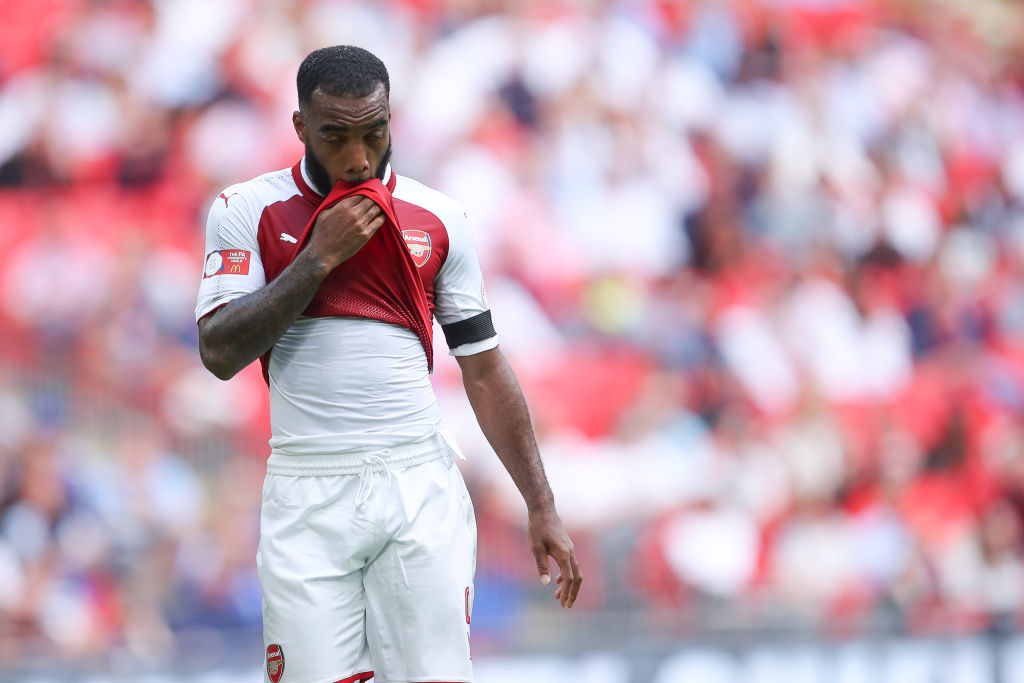 Thierry Henry struggles to understand why Arsene Wenger would drop Alexandre Lacazette