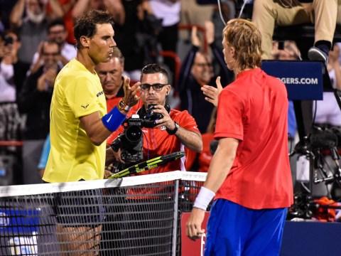 Rogers Cup: Rafael Nadal bemoans 'worst loss of year' to wildcard Denis Shapovalov