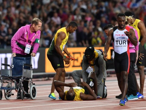 Usain Bolt pulls up in final race as Great Britain win 4x100m gold at the World Athletics Championships